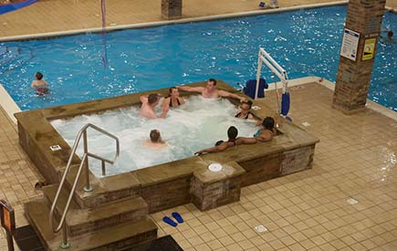 Split Rock Resort - Galleria Indoor Pool