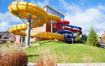 Split Rock Resort Waterpark Exterior