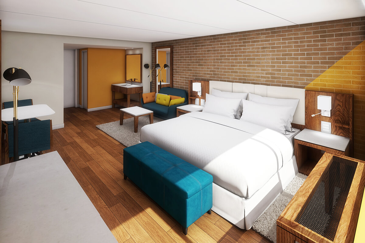 Split Rock Deluxe Hotel Room